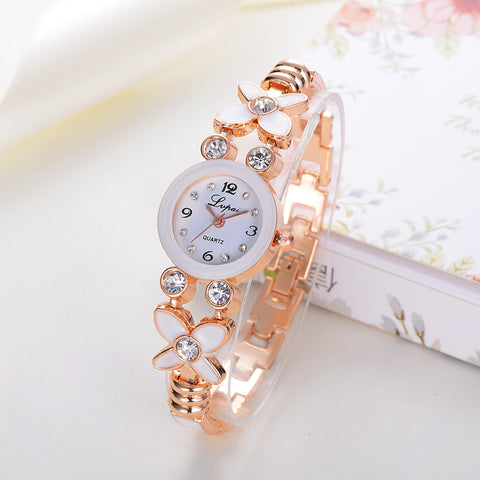 Ladies Rhinestone Quartz Wrist Watch