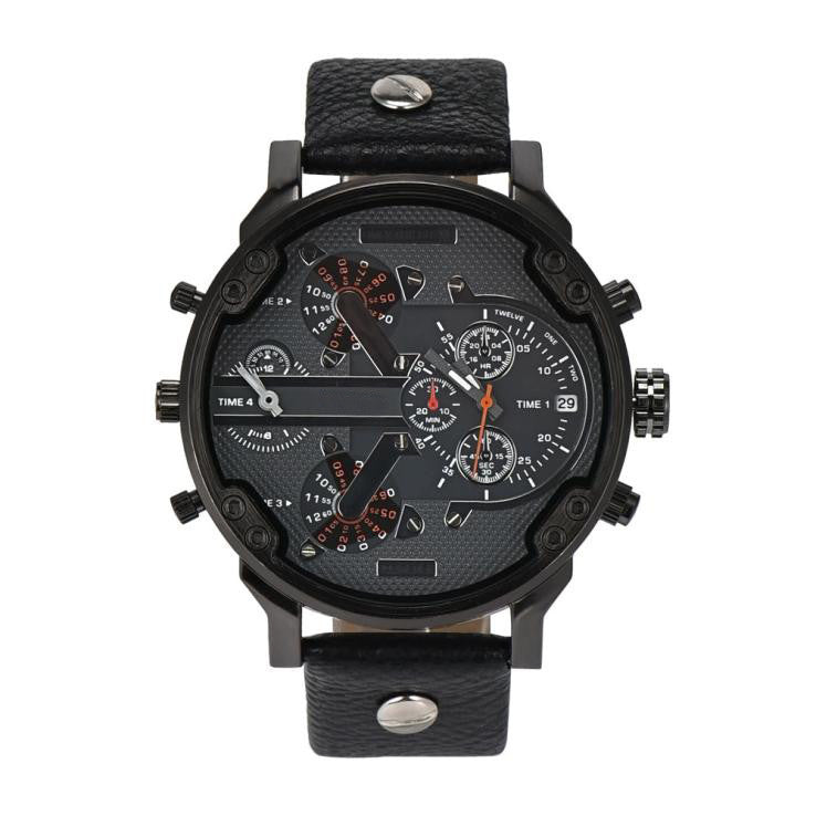 Men's Fashion Leather Sport Watch - Super Elite Trends