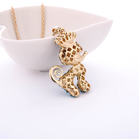 Cute Rhinestone Pendant Necklace - Super Elite Trends