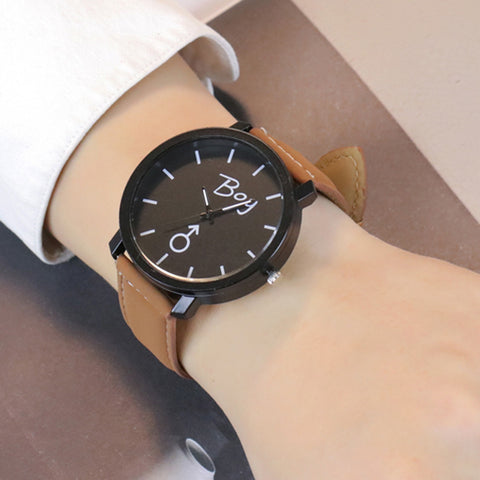 BOY > Men's Fashion Leather Watch - Super Elite Trends