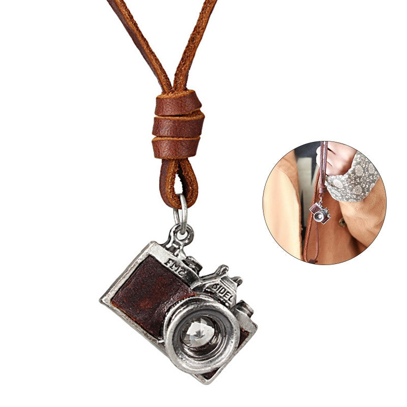 Unisex Vintage Camera Necklace - Super Elite Trends