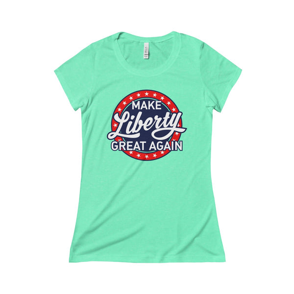 Women's MLGA Retro Design - Triblend Short Sleeve Tee