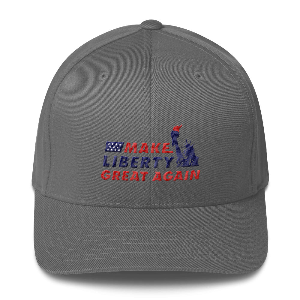 Make Liberty Great Again - Statue - Flexfit Hat