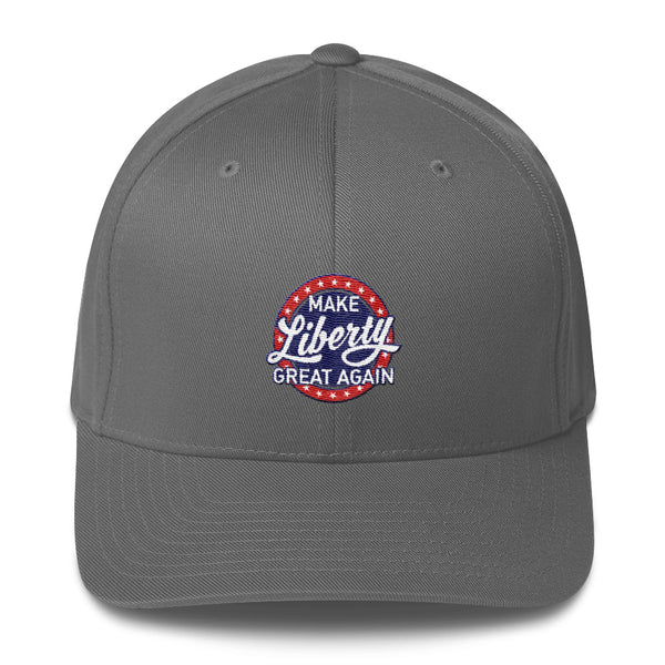 Make Liberty Great Again - Circle Logo - Flexfit Hat
