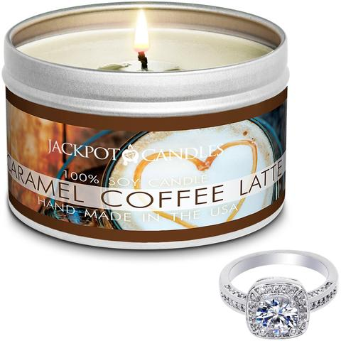 Caramel Coffee Latte Travel Tin - Taurus Zodiac Sign