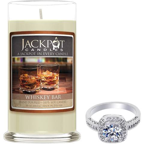 Whiskey Bar Jewelry Candle - Gemini Zodiac Sign