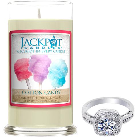 Cotton Candy Jewelry Candle - Capricorn Zodiac Sign