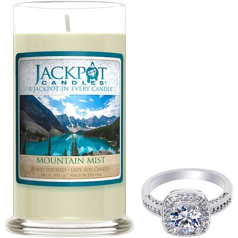 Moutain Mist Jewelry Candle - Pisces Zodiac Sign