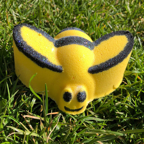 Queen Bee Bath Bomb with Necklace Created with Swarovski Crystals