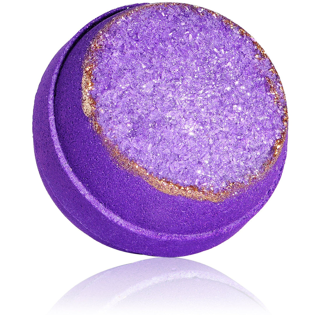 Purple Amethyst Geode Bath Bomb
