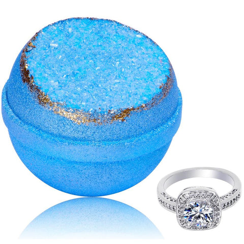 Image of Blue Topaz Geode Bath Bomb