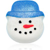 Snowman Bath Bomb with Blue Hat