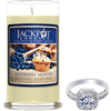Blueberry Muffin Jewelry Ring Candle - Size 9