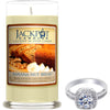 Banana Nut Bread Jewelry Ring Candle