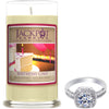 Birthday Cake Jewelry Ring Candle - Size 9