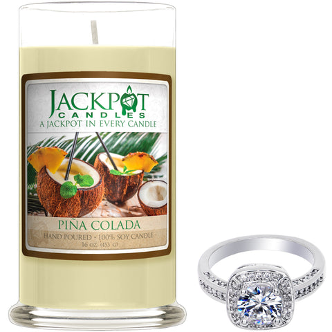Pina Colada Jewelry Ring Candle