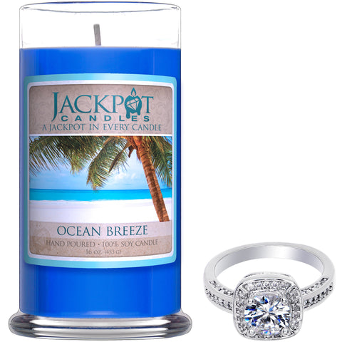 Ocean Breeze Candle & Bath Bomb Gift Set