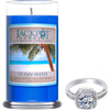 Ocean Breeze Jewelry Ring Candle