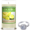 Cucumber Melon Jewelry Ring Candle - Size 9