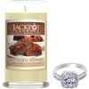 Hot Fudge Brownie Jewelry Ring Candle