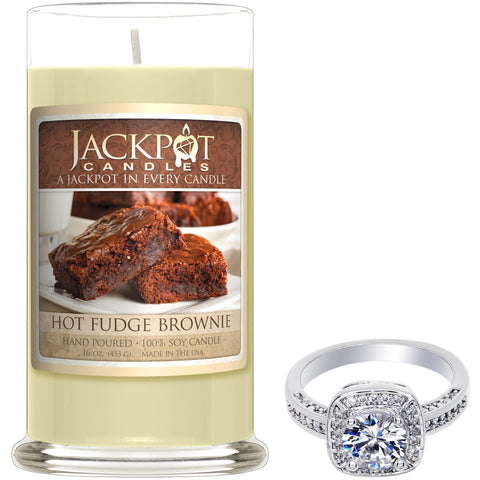 Hot Fudge Brownie Jewelry Candle