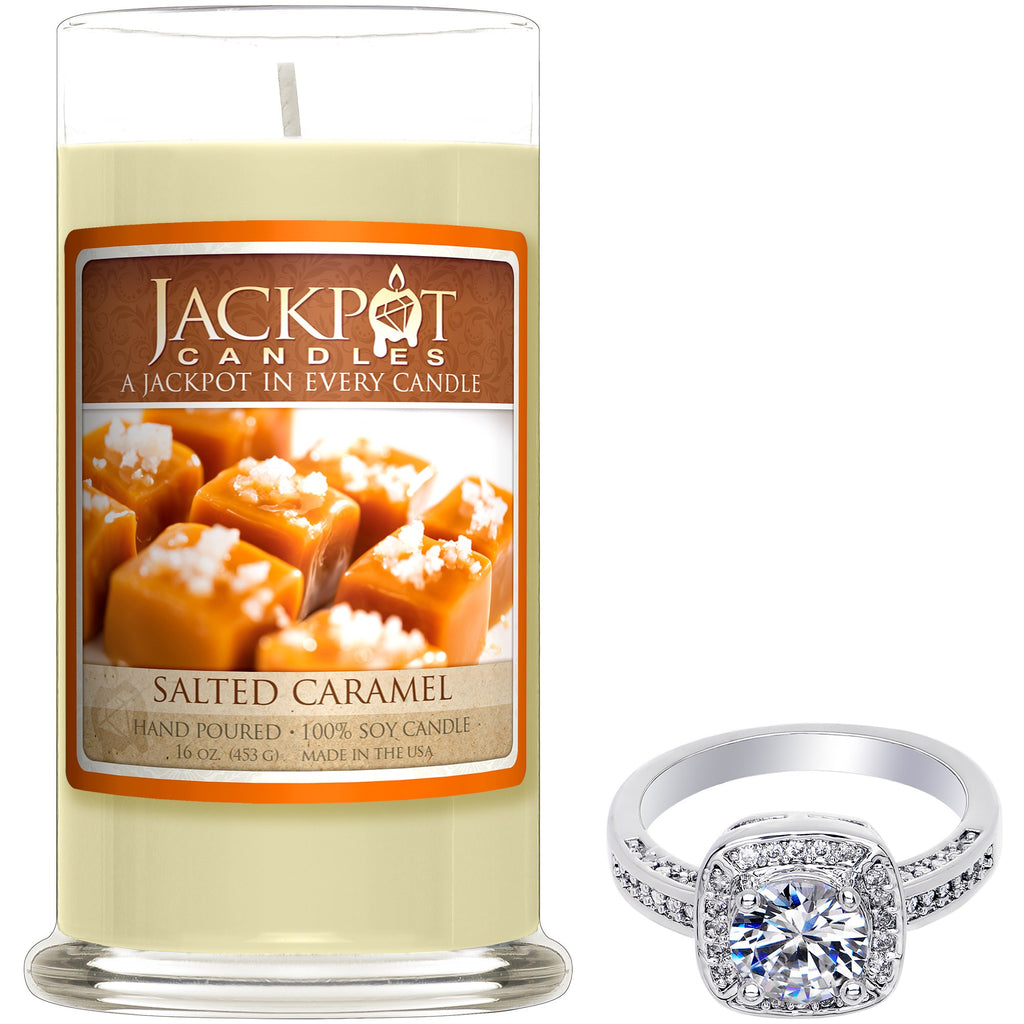 Salted Caramel Jewelry Ring Candle - Size 9