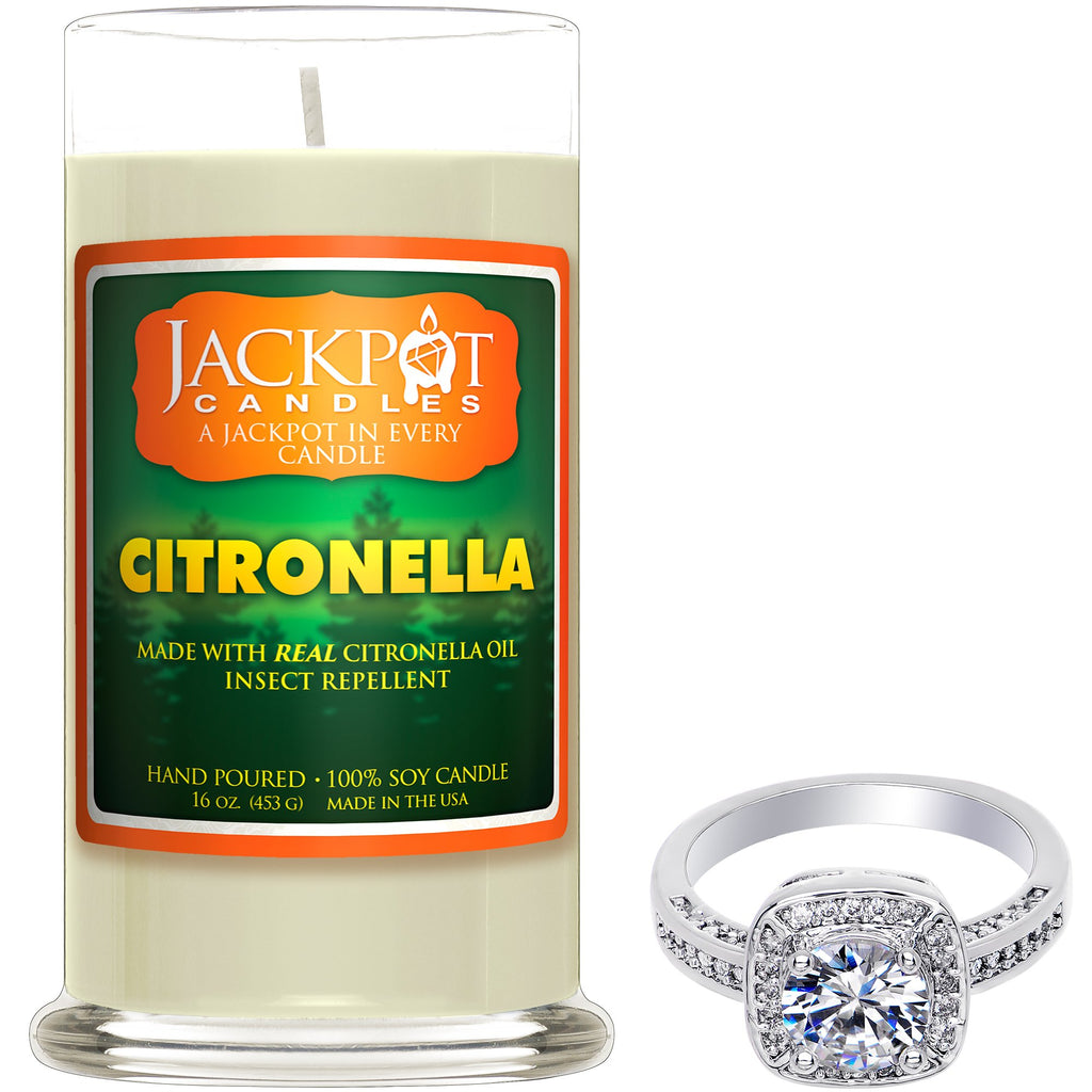 Citronella Jewelry Candle - Size 6