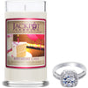Birthday Cake Jewelry Ring Candle