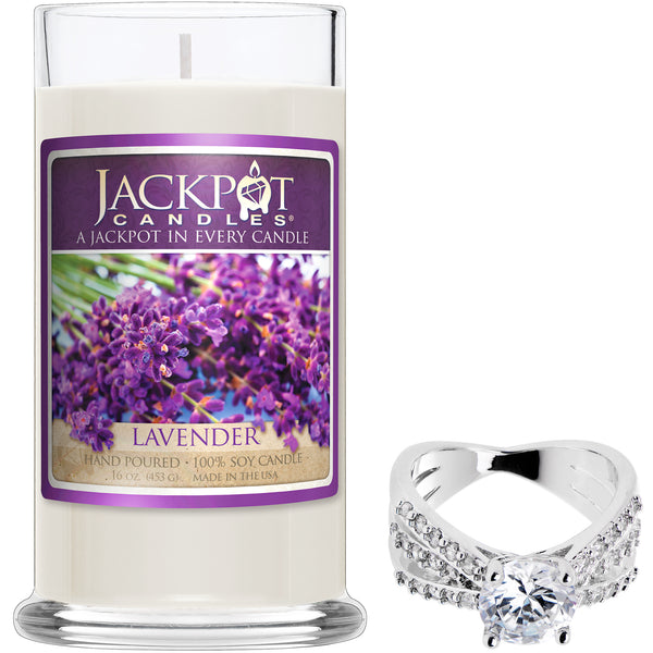 Lavender Jewelry Ring Candle - Jackpot Candles