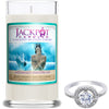 Mermaid Day Dream Jewelry Ring Candle