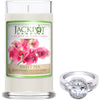 Sweet Pea Jewelry Ring Candle