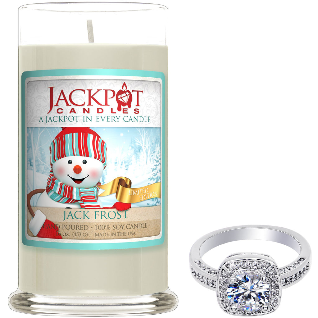 Jack Frost Jewelry Ring Candle - Size 7