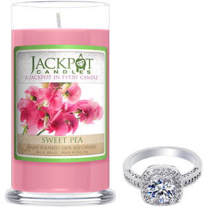 Sweet Pea Jewelry Candle