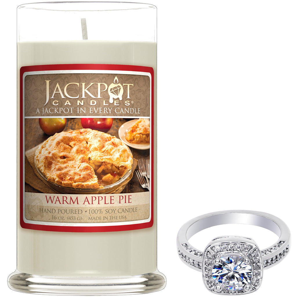 Warm Apple Pie Jewelry Ring Candle