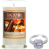 Pumpkin Pie Jewelry Ring Candle