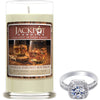 Vanilla Bourbon Jewelry Ring Candle
