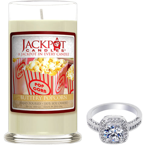 Buttery Popcorn Jewelry Ring Candle
