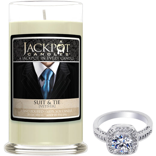 Suit and Tie Jewelry Candle