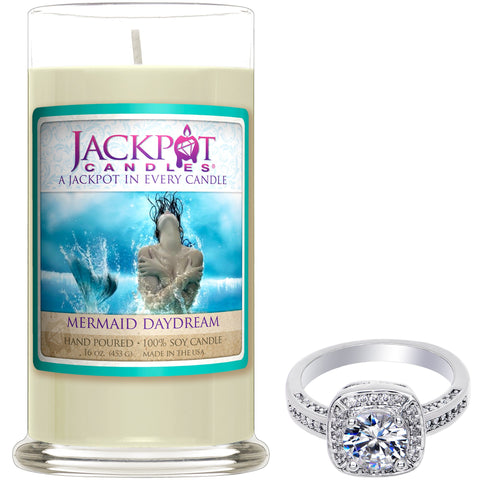 Mermaid Daydream Jewelry Ring Candle