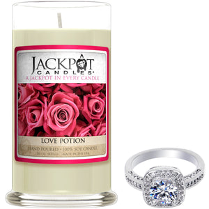 Love Potion Jewelry Candle