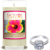 Hibiscus Jewelry Ring Candle - Size 9