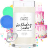 Birthday Cake Candle with Jewelry Ring