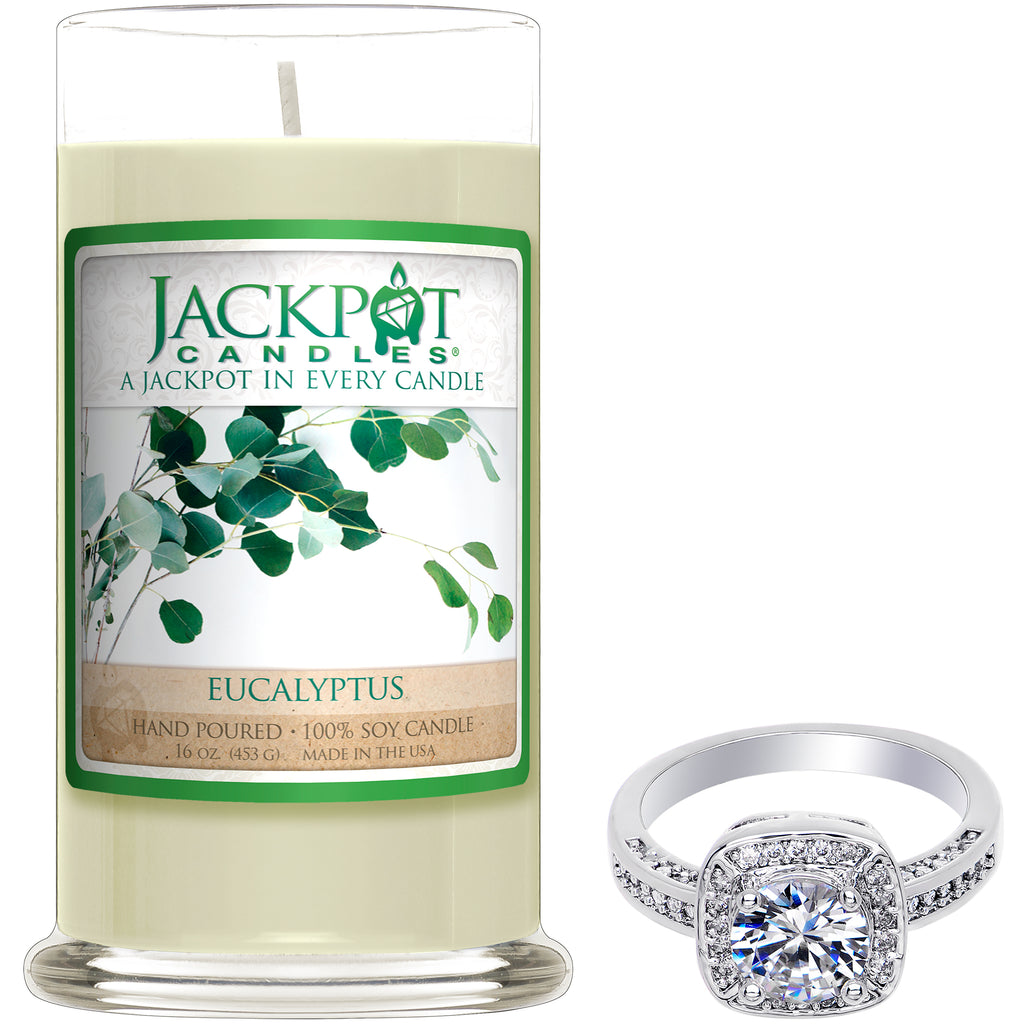 Eucalyptus Jewelry Ring Candle