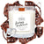 Fudgy Brownie Wooden Wick Jewelry Ring Candle
