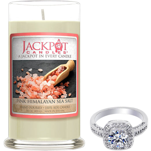 Pink Himalayan Sea Salt Jewelry Candle