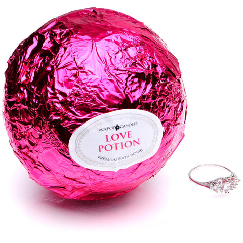 Love Potion Candle & Bath Bomb Gift Set