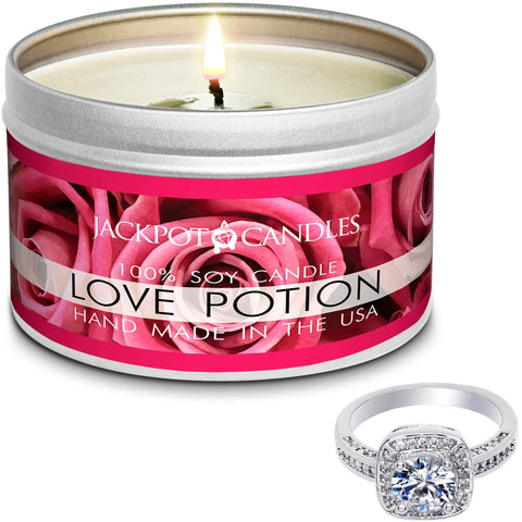 Love Potion Candle Travel Tin & Bath Bomb Gift Set