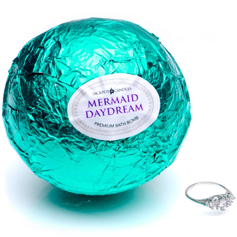 Mermaid Daydream Candle Travel Tin & Bath Bomb Gift Set