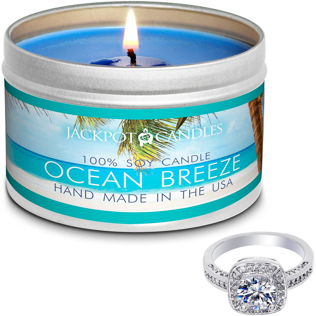Ocean Breeze Candle Travel Tin & Bath Bomb Gift Set