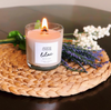 Lilac Wooden Wick Jewelry Ring Candle